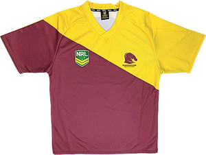 Brisbane Home Supporter Jersey Boys