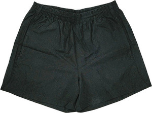 Black Sekem Training Micro Fibre Shorts
