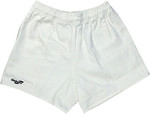 White Rugby Union Short