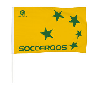 Socceroos Logo Supporter Flag