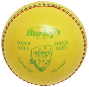BURLEY SUPER SOFT Indoor Cricket Balls Box of 12