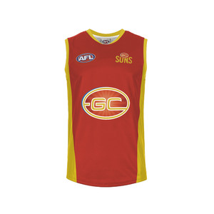 Auskick Gold Coast Sleeveless Youth Replica Guernsey