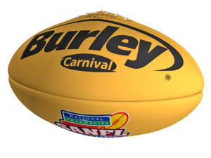 Burley Carnival Yellow Synthetic Football