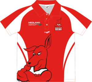 Hedland Reds Club Polo Womens